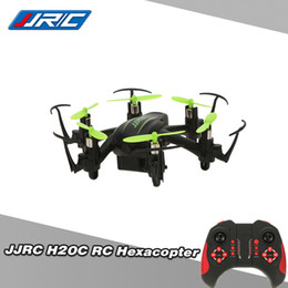 Wholesale Rc Hexacopter - Original JJRC H20C 2.4G 4CH 6 Axis Gyro RC Hexacopter Headless Mode Auto-return Drone with 2.0MP Camera RM4665