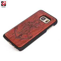 Wholesale Cases Phone Factory - Fashion Laser Engraved Luxury Wooden Phone PC Back Case Protector Cover For Samsung Galaxy s7 s7 edge s7Edge Rose Wood Factory Manufacturer