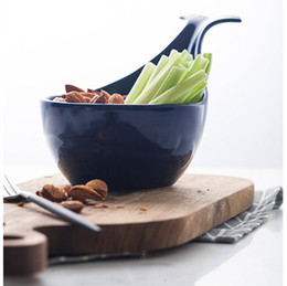 Wholesale Whale Tools - Fruit tools kitchen storage whale bowl kitchenware oven bowl snack tray HWD20