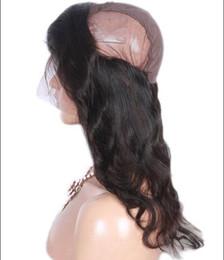 2019 miglior pezzo di chiusura dei capelli Best Quality 360 Frontal con 3 pezzi Body Wave Bundles capelli umani 4 pezzi Lot 360 frontale chiusura con cappuccio e capelli del bambino sconti miglior pezzo di chiusura dei capelli