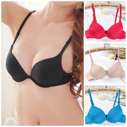 Wholesale Sexy Girl Intimates Back - Hot Fashion Style Push up Bras Women Underwear Sexy Bra For Small Breast Young Girl & Teenager Lingerie Female Intimates H090