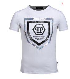 Wholesale German T Shirts - 2017 Original German Brand t shirts for men Fashion Short Sleeve Cotton poloshirt shirt men Skull hip pop Designer mens t shirts