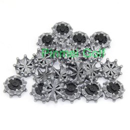 Wholesale Golf Training Aids - Wholesale- 56pcs X Grey Golf Soft spikes Pulsar For Golf CLW Sports shoes for Golf Training Aid