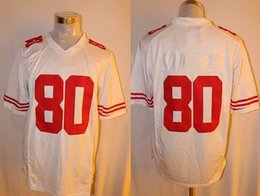 Wholesale People Football - Wholesale American football, 49 people,53 80 81 35 7short sleeves, breathable jerseys, embroidery