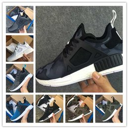 Wholesale Free Baby Shoes - Cheap New NMD XR1 Men And Women Black White PINK Friday Duck Camo olive Baby Kids Children Sport Running Shoes Drop Free shipping