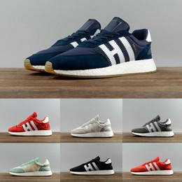 the latest 6a47d 70bf4 2017 Neue Original Iniki Runner Boost Outdoor Casual Schuhe Grau-Core Blau  Lila Schwarz Blau Red Camo Beige Sneakers Herren Damen Schuhe 36-44 rabatt  beige ...