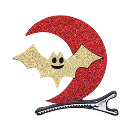 Wholesale Cute Kid Hair Claw Clips - Cute Cartoon Hairpins for Girls Halloween Hairpins Pumpkin Ghost Hair Clips Party Dress Up for Kids