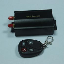 Canada TK103 GSM / GPRS véhicule GPS Tracker Alarme de voiture GPS 103 Quadband (850/900/1800 / 1900MHZ) Alarmes de voiture Sécurité Offre
