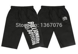 Wholesale Men Knickers - Wholesale-BILLIONAIRE BOYS CLUB BBC sweat shorts men sportswear fashion cool hip hop short streetwear breeches knickers