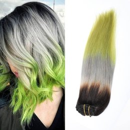 Wholesale Hair Clips Cheap Price - Colored hair extensions 100% human Brazilian hair clip in clip on hair extensions with the cheap price in stock