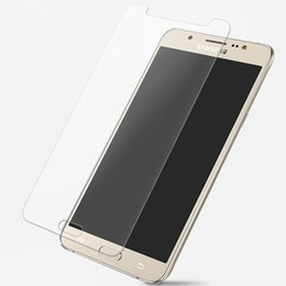 Wholesale Edge Series - For Samsung J Series Screen Protector Round Edge 9H hardness Tempered Glass for Samsung 2016 J1 J2 J3 J5 J7 J1mini J210 J510 J710 200pcs