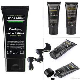 2019 nez gras SHILLS Deep Cleansing Noir MASQUE 50ML Masque facial Blackhead maquillage noir nettoyage de la tête Masque noir charbon actif