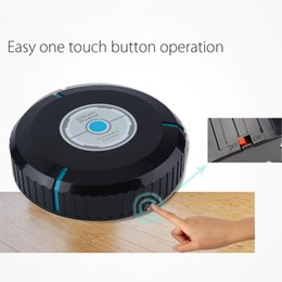Wholesale Microfiber Mops - Wholesale-2016 Newest Auto Cleaner Robot Microfiber Smart Robotic Mop Dust Cleaner Cleaning