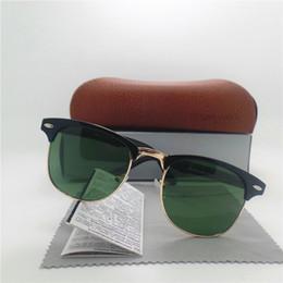 Wholesale Designer Party Sunglasses - Luxury Men Women Sunglasses Brand Designer Eyeglasses Vintage Party Fashion Sun glasses High Quality Unisex Eyeglasses All Case Box
