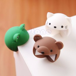 Wholesale Desk Edge Protection - Wholesale- 2pcs Cute Silicone Baby Safety Protector Desk Table Corner Edge Protection Cover #H055#