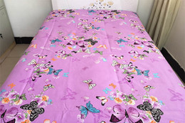Wholesale Printing Twill Cotton Fabric - New Butterfly Printed Bed Sheets High-grade Fabrics Bedsheet Pure Cotton sheet Bedding Supplies hot sell free shipping