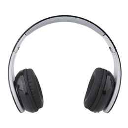 Wholesale Over Head Bluetooth - BT513 Bluetooth Headphone Wireless Folding Over-the-head Bluetooth 4.0 Earphone Headset Hands-free with Mic for Smart Phones