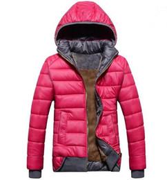 parka leggero nero Sconti 2018 nuove donne Parka Down modelli femminili cappotto di sport più velluto piumino inverno caldo giacca con cappuccio da donna rimovibile spedizione gratuita