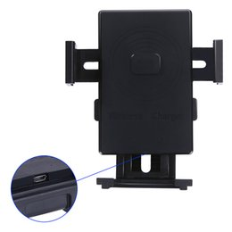 Wholesale Car Charger For Galaxy Phone - Multi-Funtion Qi Wireless Charger Phone Mount Holder Fast Wireless Charging Car Charger For Samsung Galaxy Note5 S6 S7 Edge Plus