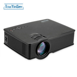 Wholesale Android Led Projector Full Hd - Wholesale- Everycom UC40S WIFI MINI Portable LED Projector Full hd Video Home Theater Movie projecteur Support HDMI projetor For android