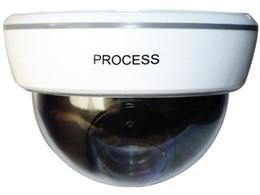 Wholesale Fake Security Cameras Free Shipping - Wireless Dummy IP Camera Fake Security Webcam Flashing LED Surveillance Monitor 1500B free shipping