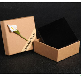 Wholesale Vintage Necklace Wholesale Manufacturer - Fashion jewelry box manufacturer wholesale fine vintage kraft paper necklace with small gift package box