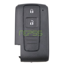 Wholesale Toyota Verso - High Quality Replacement Shell Keyless Entry Smart Remote Key Case Fob 2 Button for Toyota Prius Corolla Verso