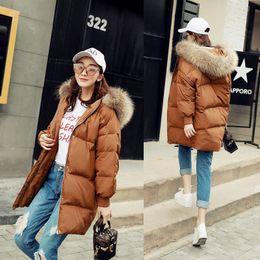 Wholesale Womens Long Down Parka - 2018 caramel women down parkas women winter coats long winter jackets high quality long sleeves winter womens outweaer coats