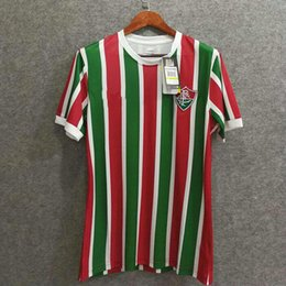 Wholesale Green H - Perfect 17 18 Fluminense home soccer jerseys football shirts AAA soccer clothing customize name number H. DOURADO 9 made in brazil
