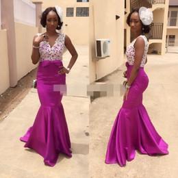 2019 vestidos vermelhos de jantar curto 2019 africano roupas de noiva roxo vestidos de dama de honra para vestidos de noite de baile vestidos de festa de formatura FRETE GRÁTIS