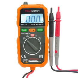 Wholesale Precision Voltage - Digital Multimeter Portable High Precision Non-contact Digital Multimeter DC AC Voltage Current Capacitance Mini Safety Tester