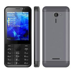 Wholesale Quad Band Mobile Unlocked - Unlocked 4 SIM Card 4 Standby Mobile Phone Oeina M230 2.8inch 800mah quad band GSM bluetooth FM radio