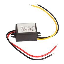 Wholesale Voltage Regulator Car - Wholesale- 23mm Car Charger DC Voltage Regulator Converter Module 12V To 5V 3A 15W SWE#
