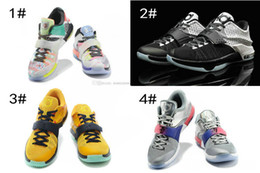 Wholesale Kevin Durant Shoes Colors - wholesale air KD 7 VII men Basketball Shoes high quality Kevin Durant basketball sneakers kds 7 Athletic running sports sneakers All Colors