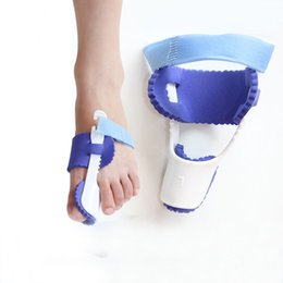 Wholesale Splint Corrector - 1 Pair 2 PCS Big Toe corrector Feet Care Gel Bunion Pads Splint Straightener Foot Pain Relief Hallux Valgus Pro Correction Foot Care Tool