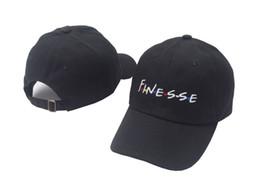 Wholesale Fashion News Men - 2017 news FINESSE Hat (slide buckle) fashion style vintage art dad cap seasons caps meme man women baseball cap