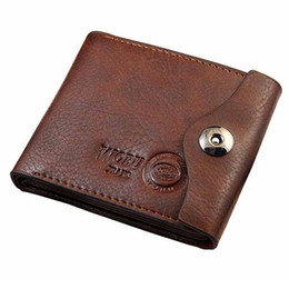 Wholesale Free Passport Photo - Wholesale- Promotion Casual Wallets For Men New Design Genuine Leather Top Purse Men Wallet With Coin Bag Wholesale Free Dropshipping1