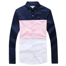 Wholesale China Breast - Wholesale- Eden Park 2017 Full Sleeve Shirt For Men High Quality Nice Design Business Casual Style Made In China M L XL XXL Free Shipping