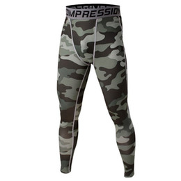 Wholesale Wholesale Compression Tights - Wholesale-Men Tights Adult Compression Performance Body Fit Leggings Trousers 2016 New