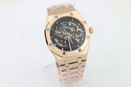 Wholesale Automatic Luxury Watch Mechanical - brand new With back glass Rose gold case F40757 Luxury Fashion Wristwatche Wholesale men watch sports Automatic Stainless Men's Watches