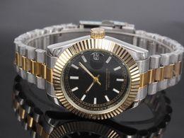 Wholesale New Luxury Fashion Men Belts - 40 mm AAA quality automatic date luxury fashion men and women of the steel belt movement quartz clock men watch
