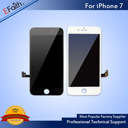 Wholesale Wholesale Touch Screen Frame - Grade A +++ LCD Display Touch Digitizer Frame Assembly Repair For iPhone 7 & Free DHL Shipping