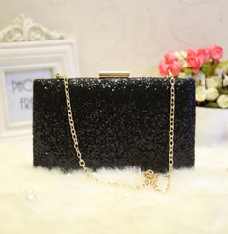Wholesale Club Lock - Factory sales brand package shiny delicate hand bag of beautiful diamond club Dinner Bag simple and elegant wedding banquet hand bag