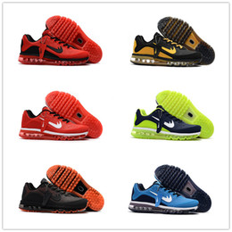 Wholesale Men Max Running - 2017.5 max KPU running shoes for men 2017.5max sports shoes high quality 2017 maxes sneaker ,size US 7-13 , free shipping