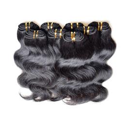 Wholesale Cheapest Brazilian - Clearance Brazilian Hair Body Wave 3Kg 60Bundles Lot 50g Bundle 100% Human Hair Material Made Black Color Cheapest Humano Cabelos
