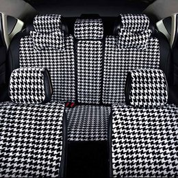 Wholesale Car Cover Seats Set - High quality universal four seasons car seat cover new plush health car cushion for automotive interiors