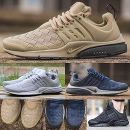 Wholesale Canvas Shoes Size 12 Women - Air Presto SE Woven Women Youth Men Running Shoes High Quality Presto Ultra SE Outdoor Casual Walking Sneakers Size 5.5-12