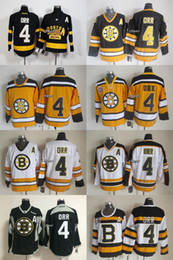 Wholesale Low Price Throwback Jerseys - Wholesale Mens Boston Bruins #4 Orr CCM Throwback 75TH Jerseys Ice Hockey Jerseys ,Best Quality,Low Price