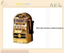 Wholesale Children S Sport Toys Wholesale - 2017 Novelty decompression toy, adult Children' s Slot Machine Mini Toy Lucky Jackpot For Fun Birthday Gift Kids Safe New Style Healthy Desi