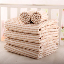 Wholesale baby mattress sheets - Infant Waterproof Diaper Washable Baby Mattress Urine Mat Color Cotton Baby Changing Pad Baby TPU Waterproof Sheet Mattress